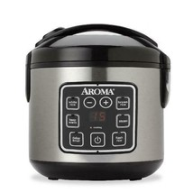 Aroma 8-Cup Digital Rice Cooker and Food Steamer - $46.99