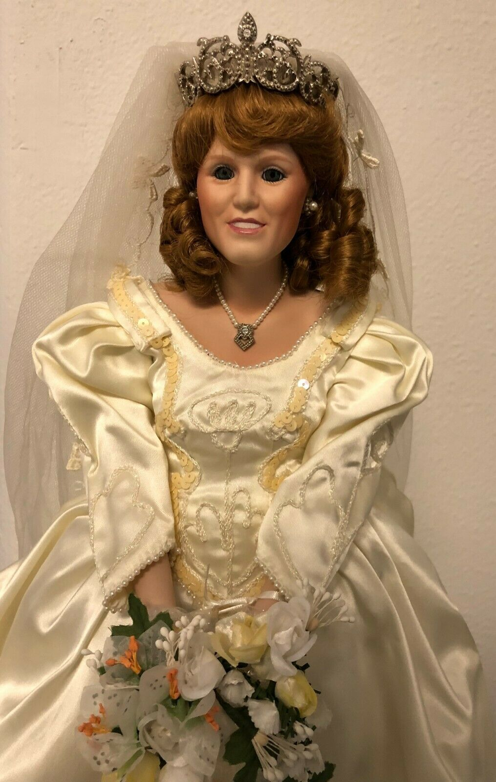 "Franklin doll: ""The Princess Sarah Bride Doll"""