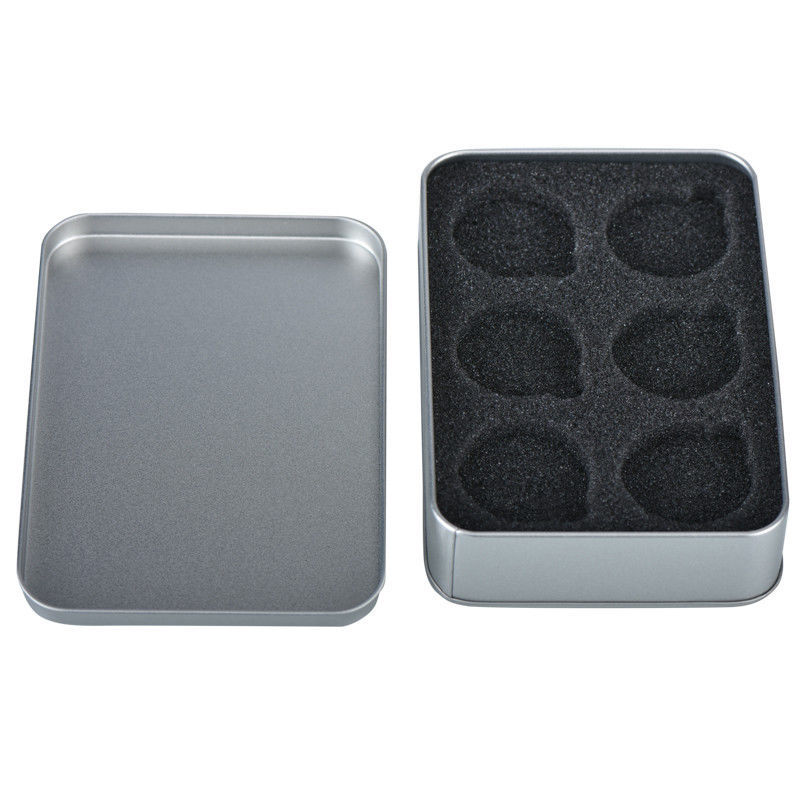 WR Coin Tin Silver Case Display Box Storage Holder for 6 40mm Coins Collect Item image 3