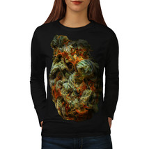 Smelly Weed Bud Rasta Tee Smoke Women Long Sleeve T-shirt - $14.99