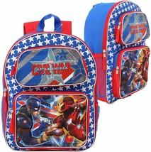 """Marvel Captain America Civil War 3D Pop-Up 16"""" Backpack - $12.59"""
