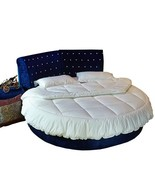 1Pcs Pure cotton Round beds  220x220 Round bed Quilt Bedding Set Customi... - $256.80