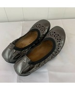 TAOS Untold Cushioned Insole Ballet Flats Shoes Gun Metal Gray Size 38 7... - $34.62