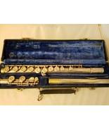 Gemeinhardt M2 Flute Silver Instrument Original Case D09254 Band Orchestra - $418.49