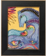 Riviera Horses 2017 Horse Collection AIDA cross stitch kit Laurel Burch ... - $16.20