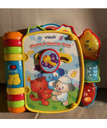 VTech Baby Wiggle and Crawl Ball Activity Cube & Rhyme and Discover Book... - $34.99