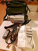 JVC Camcorder GR SXM730U 400X Compact VHS -Parts or repair - $44.50