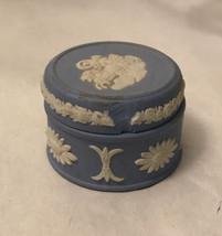 wedgwood blue trinket box - $7.92