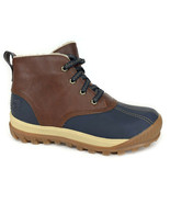 Timberland Women's MT Hayes Medium Brown Leather Waterproof Snow Boots A1631 - $99.99