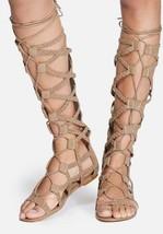 STEVE MADDEN Sammson Tall Lace up Gladiator Sandals  9.5 M - $72.38