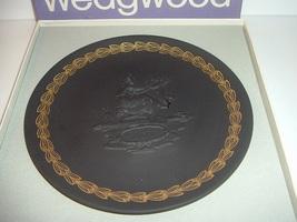 Wedgwood Black Bassalt Jasperware Mother Plate ... - $18.99