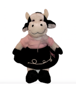 Dan Dee Cow Stuffed Animal Plush Soft Dress Me Differently Poodle Skirt Lot  - $49.99