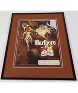 1988 Marlboro Cigarettes 11x14 Framed ORIGINAL Advertisement - $32.36