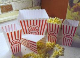 Retro Plastic Popcorn Bowl Tub Container Movie Theater Bucket Reusable S... - ₨1,282.85 INR
