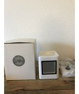 Scentsy Warmer 'Sleek White' Full Size Retired NIB - $38.56