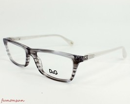 Dolce & Gabbana Women's Eyeglasses D&G1215 1767 Gray Plastic Rectangle F... - $96.03