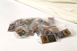 Vintage Pokemon League Gym Badges Pins Lot of 20 - $49.49