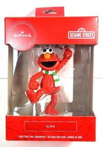 Hallmark Red Box Sesame Street Elmo Christmas ornament NEW - $9.85