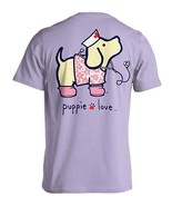 Puppie Love Rescue Dog Adult Unisex Short Sleeve Graphic T-Shirt,Nightin... - $19.99