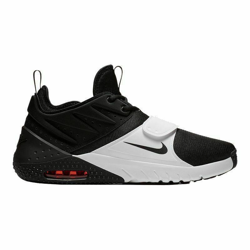 Nike Air Max Trainer 1 Sz 11 Mens Cross Training Black/White-Red Blaze Shoes