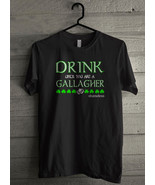 Drink until you are a Gallagher shameless - Custom Men's T-Shirt (3897)