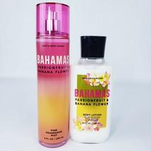 Bath & Body Works Bahamas Passion Fruit & Banana Flower Mist Body Lotion... - $28.11