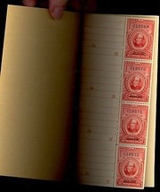 R684a, Complete Booklet of Four Mint $1,000.00 Revenue Stamps Cat $1,200.00 - $169.95