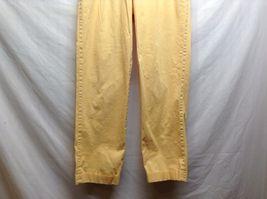 Ben Silver Charleston Mustard Yellow Cuffed Pants image 3