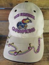 Kansas City JAYHAWKS 2003 Regional Champions Final Four Size M/L Adult Hat Cap - $20.48