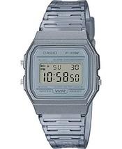 Casio Quartz Watch with Resin Strap, Gray, 20 (Model: F-91WS-8CF) - $34.35