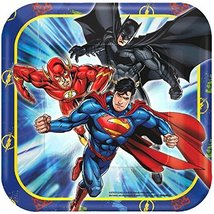 American Greetings Justice League Paper Dessert Plates, 8-Count - $5.44