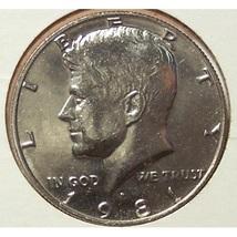 1981-P Kennedy Half Dollar BU #0473 - $1.99