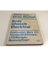 1985 Ford Car Shop Manual Body Chassis Electrical Part II Vol B Thunderbird - $14.99