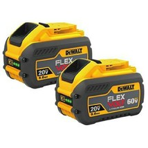 DeWALT flexvolt battery dcb609 pair new - $259.00