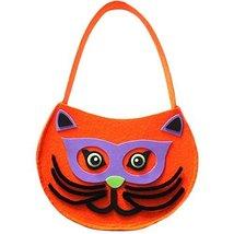 Cute DIY Halloween Kids Pumpkin Bag Trick or Treating Candy Bag,Set of 2 (Owl)