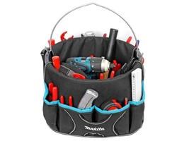 Makita P-72095 Bucket Tote Tool Fixings Carrying Bag Organiser With 18 Pockets - $17.78
