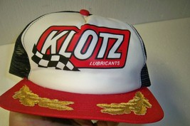 Vintage Klotz Lubricants Scrambled Eggs Mesh Trucker Hat Cap New Era Brand - ₹1,719.60 INR