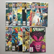 Lot of 11 Excalibur (1988 1st Series) #1-4 6 7 41 53 71 75 84 VF Very Fine - $37.62
