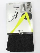 Hanes Animal Pattern Tights Eiffel/Black 0B847 - $3.08