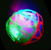 3 LED Jumping Fusion Ball Dancing Vibrating Flashing Blinking Toy - $17.81