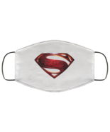 Superman S Shield Face Mask Artwork FMA Face Mask - $13.95+