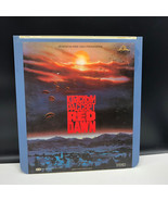 SELECTAVISION VIDEO DISC vintage videodisc movie ced Red Dawn Swayze She... - $39.55