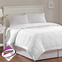 Year Round White Microfiber Down Alternative Blanket w/3M Scotchgard - A... - $1.095,21 MXN+