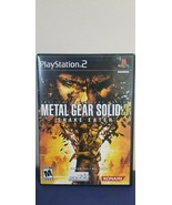 Metal Gear Solid 3: Snake Eater (Sony PlayStation PS2, 2004) Game - $12.82