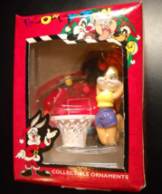 Matrix Christmas Ornament Looney Tunes 1997 Babs Bunny Basketball Dunk Boxed - $9.99