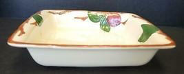 Vintage Franciscan Square Microwave Baker - Apple Pattern - $37.99