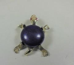 Vintage Turtle Pin Brooch - $9.89
