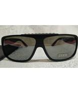 GUESS Women's Sunglasses Square Aviator Black w/ Gray Logo GU 6637 + POU... - $22.76