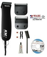Wahl KM2 Heavy-Duty PRO 2-SPEED CLIPPER KIT-ULTIMATE 10 & 5F BLADE PET G... - $277.99