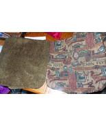 Pair of Green Cabin Print Throw Pillows 19 x 19 - $49.95